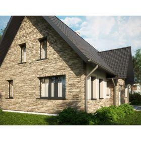 Paneles para revestimiento de fachada exterior normal y - Placas imitacion piedra ...