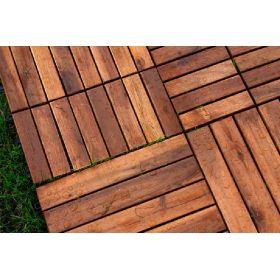 Suelos y pavimentos de exterior - Losetas madera exterior ...