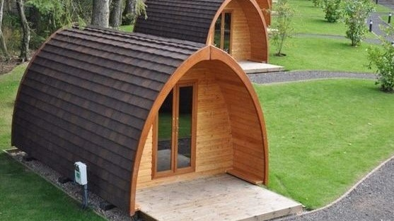 pods glamping
