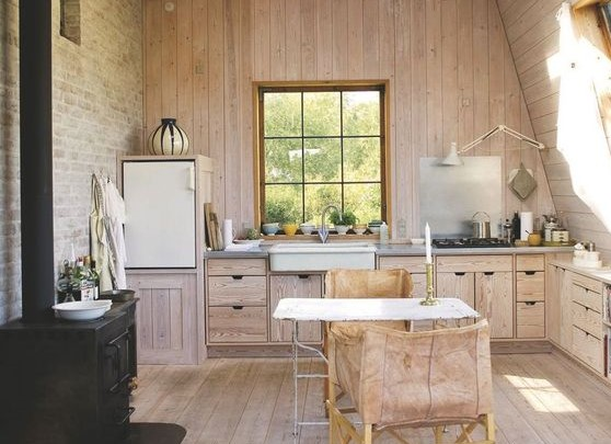 glamping cocina